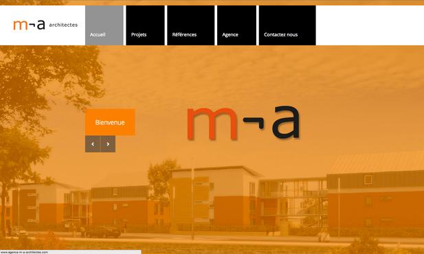 site internet m-a architectes Paris