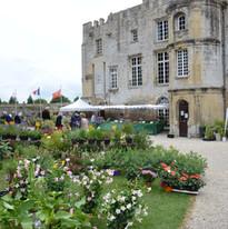 fête des plantes au château de Creully