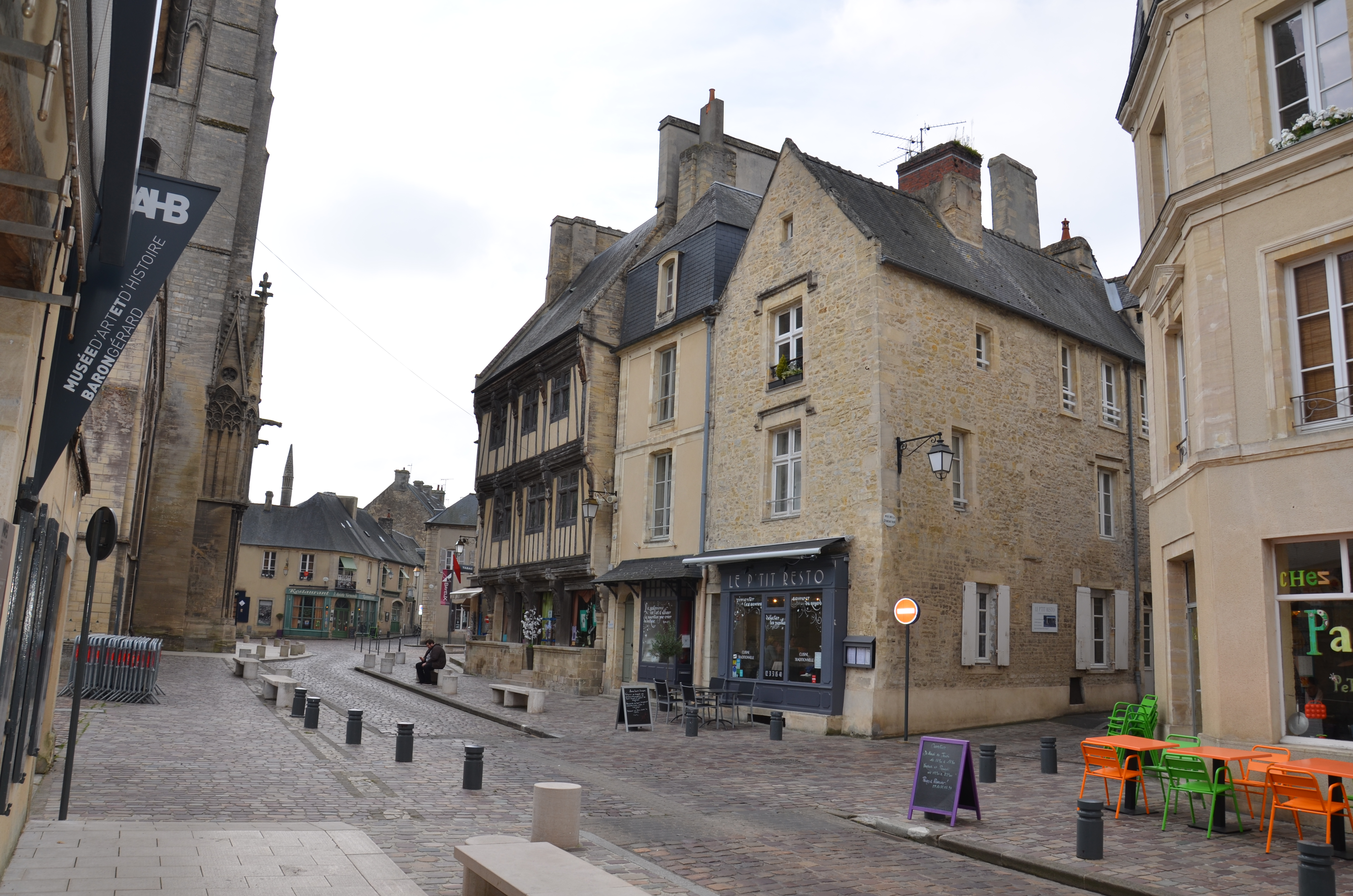 une rue de Bayeux
