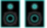 Monitores, caixas acústicas e fones de ouvido