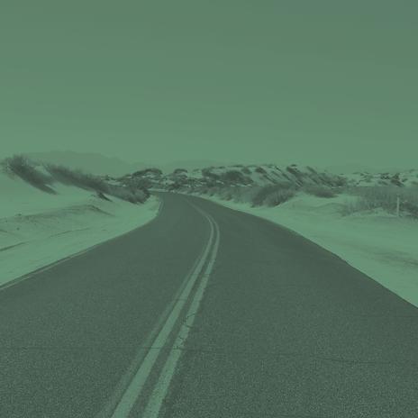 unser Lebensweg ist lang wie die Strasse - manchmal leicht, manchmal schwierif aber immer geradeaus