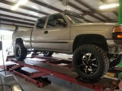 Jacked Trucks