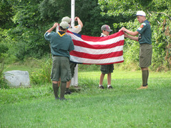 Flag at Camp.JPG
