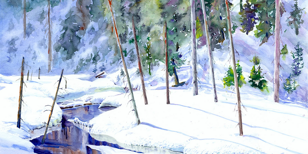 5  Week Watercolor Intensive with Teresa Herndon