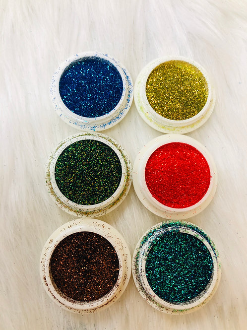 Metallic Glitter 6 Pack (#8)