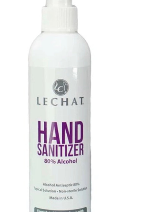 Lechat Hand Sanitizer 80% Alcohol