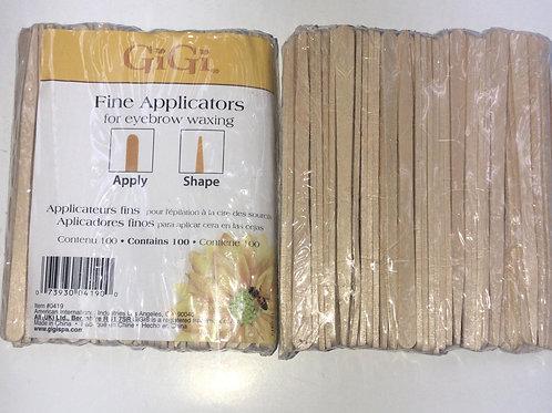 Fine Applicators For Eyebrow Waxing ( 100ct )