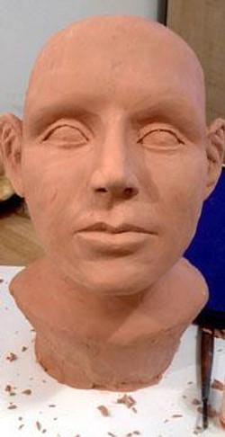 Forensic Prop Sculpt