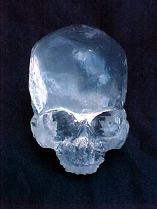 Crystal Skull Made for Haxan Films