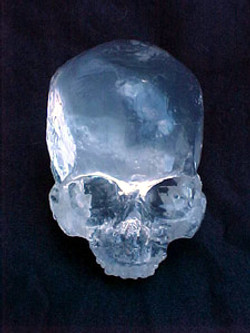 Crystal Skull Made for Haxan Films