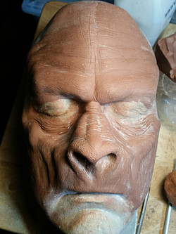 Bigfoot sculpt