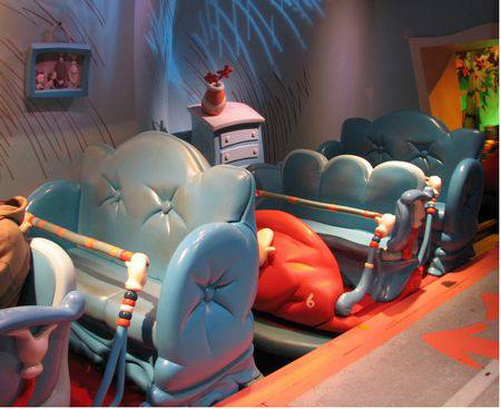Suess Ride Universal Studios FL