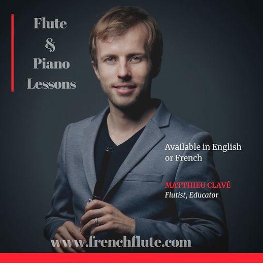 Matthieu Clavé - piano lessons