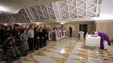 Homilía del Papa: la fe es ir adelante con la vida que se tiene