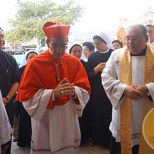Misa de acción de gracias por el nombramiento del Cardenal Rosa Chávez