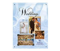 Hilton Weddings Pocket Brochure