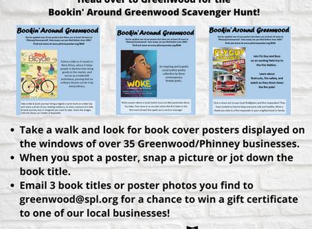 Bookin' Around Greenwood!