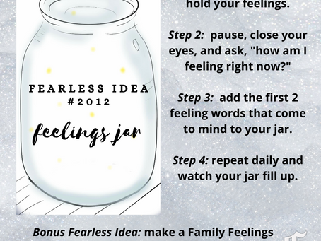 Fearless Idea#2012: Feelings Jar