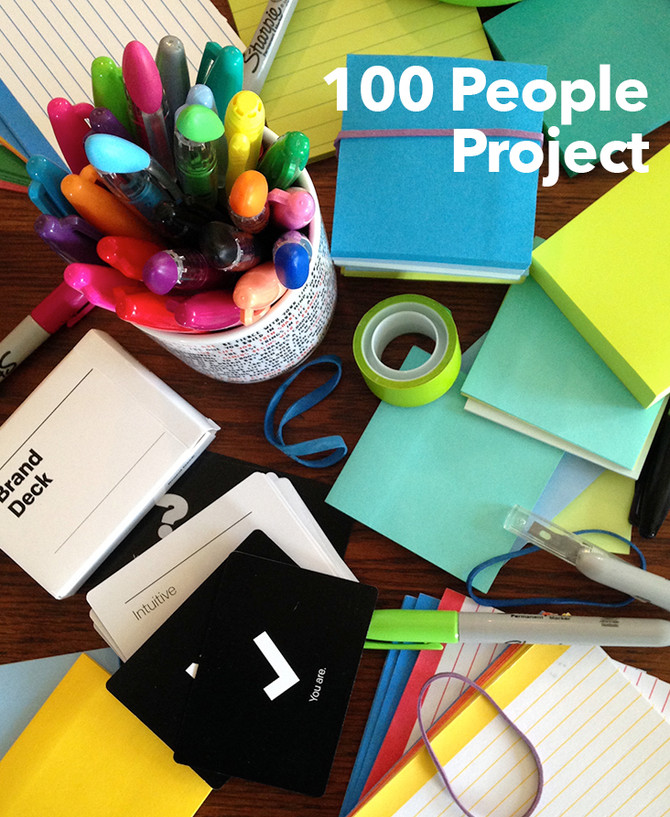 100 People Project | What do you need?