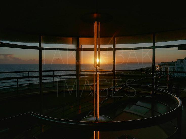 Stair-down Sundown