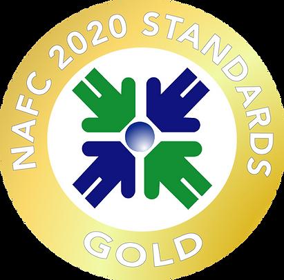 NAFC Standards Seal Gold 2020 Transparen