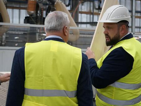 Biedri tiekas ar LR ekonomikas ministru J.Vitenbergu