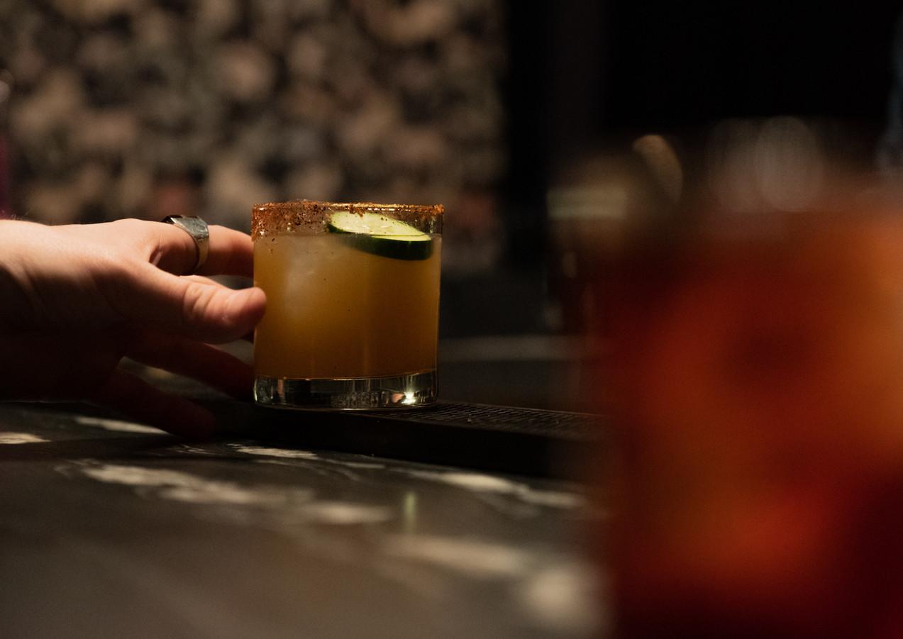 cocktail at night night