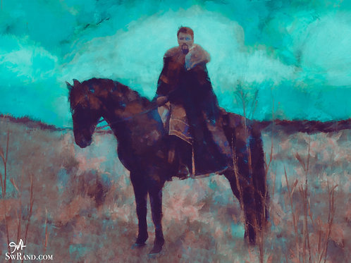 """Nobleman - 12""""x18"""" Limited Edition Giclee Art Print"""