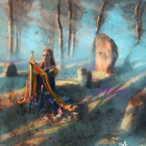 "Sacred Grove - 12""x18"" Limited Edition Giclee Art Print"