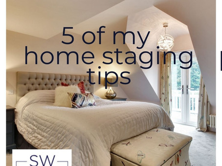 5 of my top home staging tips