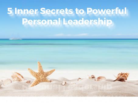 5 Inner Secrets
