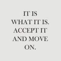 accept it