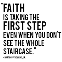 You gotta have faith!