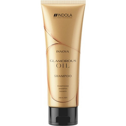 "Шампунь ""Чарующее сияние"" Indola Glamorous Oil Shampoo, 250 мл."