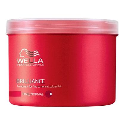 Крем-краска для окрашенных нормальных и тонких волос Wella Brilliance, 500 мл.