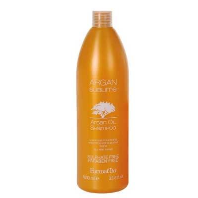 Безсульфатный аргановый шампунь Argan Sublime Shampoo, 1 л.