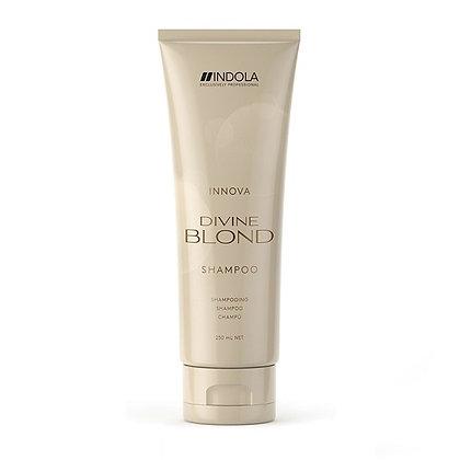Восстанавливающий шампунь для светлых волос Indola Divine Blond Shampoo, 250 мл