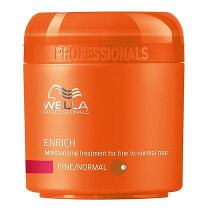 Питательная крем-маска для объема нормальных и тонких волос Wella Enrich, 150мл.
