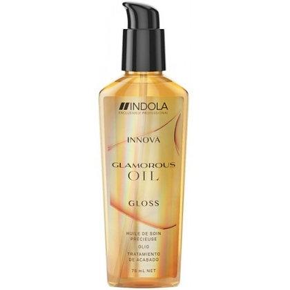 """Несмываемая маска (масло) """"Чарующее сияние"""" Indola Glamorous Oil, 75 мл."""
