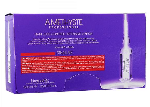Лосьон против выпадения волоc Amethyste stimulate, 12х8 мл.