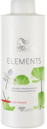 Легкий обновляющий бальзам Wella Elements, 1000 мл.