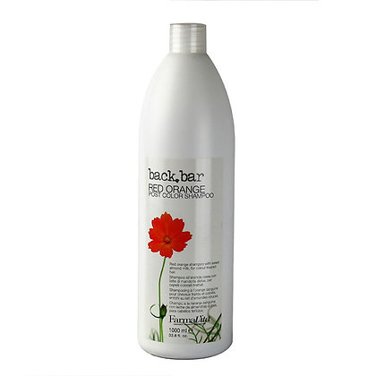 Специальный шампунь для окрашенных волос Back Bar Red Orange Shampoo, 1 л