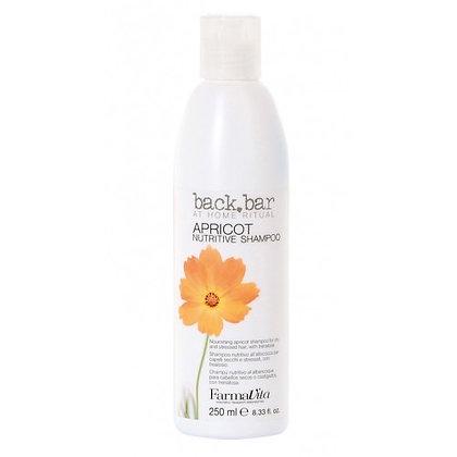 Шампунь для сухих и поврежденных волос Back Bar Apricot Shampoo, 250 мл.