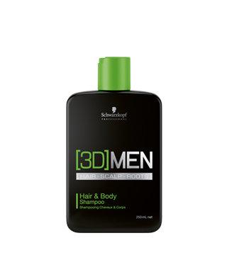 Шампунь для волос и тела 3D[MEN] Hair & Body Shampoo, 250 мл.