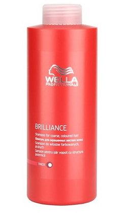 Шампунь для окрашенных жестких волос Wella Brilliance, 1000 м