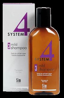 Терапевтический шампунь №3 для всех типов волос, 215 мл.