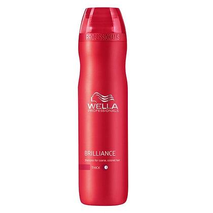 Шампунь для окрашенных жестких волос Wella Brilliance, 250 мл