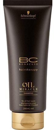 Шампунь для жестких волос BC Bonacure Oil Miracle Thick Shampoo, 200 мл.»