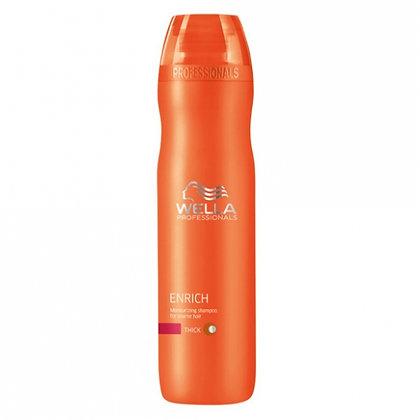 Питательный шампунь для увлажнения жестких волос Wella Enrich, 250 мл.
