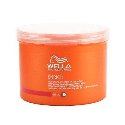 Питательная крем-маска для жестких волос Wella Enrich, 500 мл.